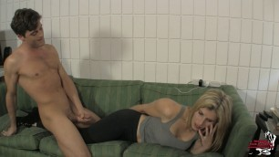 new mature 760 She Owns Your Manhood Cum on Yoga Pants Ignored